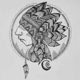 Aaska-illustration-Indien
