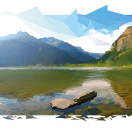 aaska-landscape-low-poly