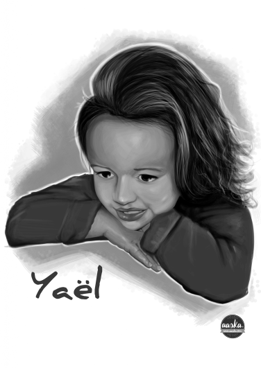 illustration-portrait-enfant-yael