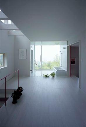 2階寝室と展望風呂