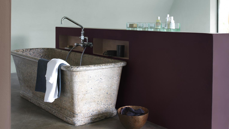 peinture pour une salle de bain spa