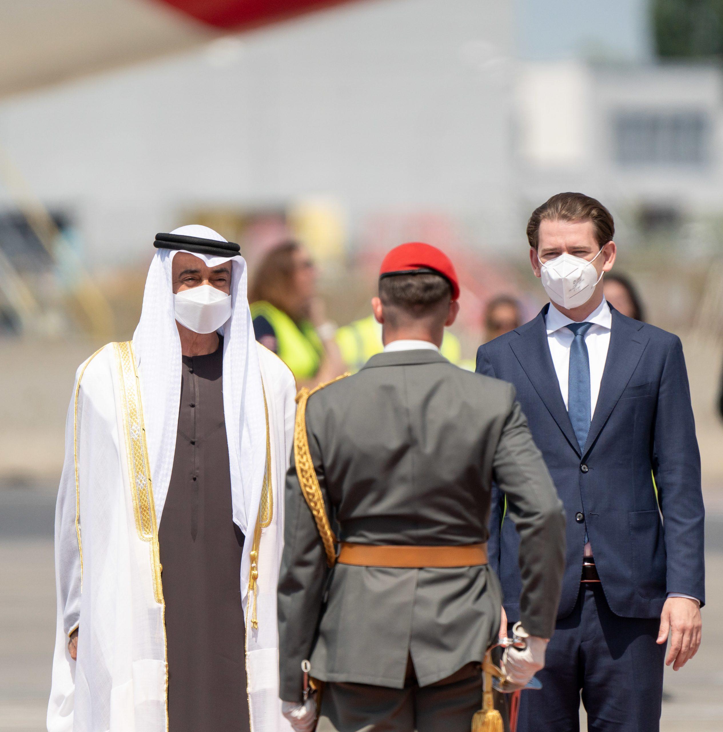 محمد بن زايد يزور النمسا
