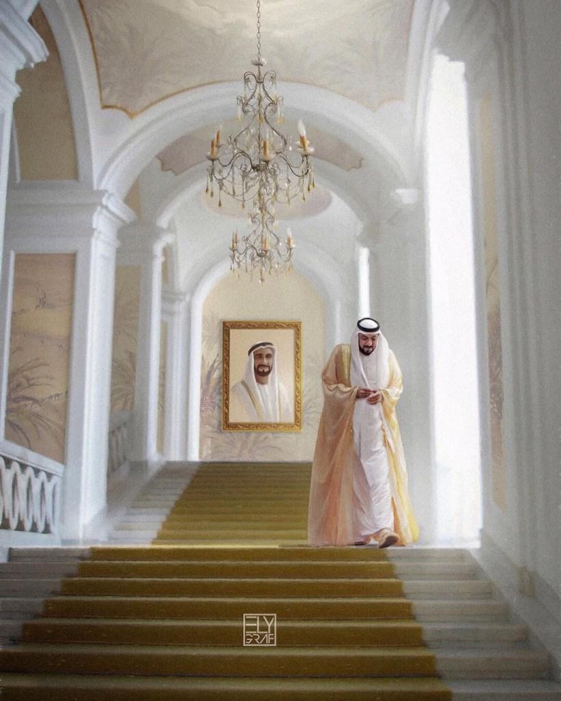 صور عامة - محمد بن زايد - خليفة بن زايد
