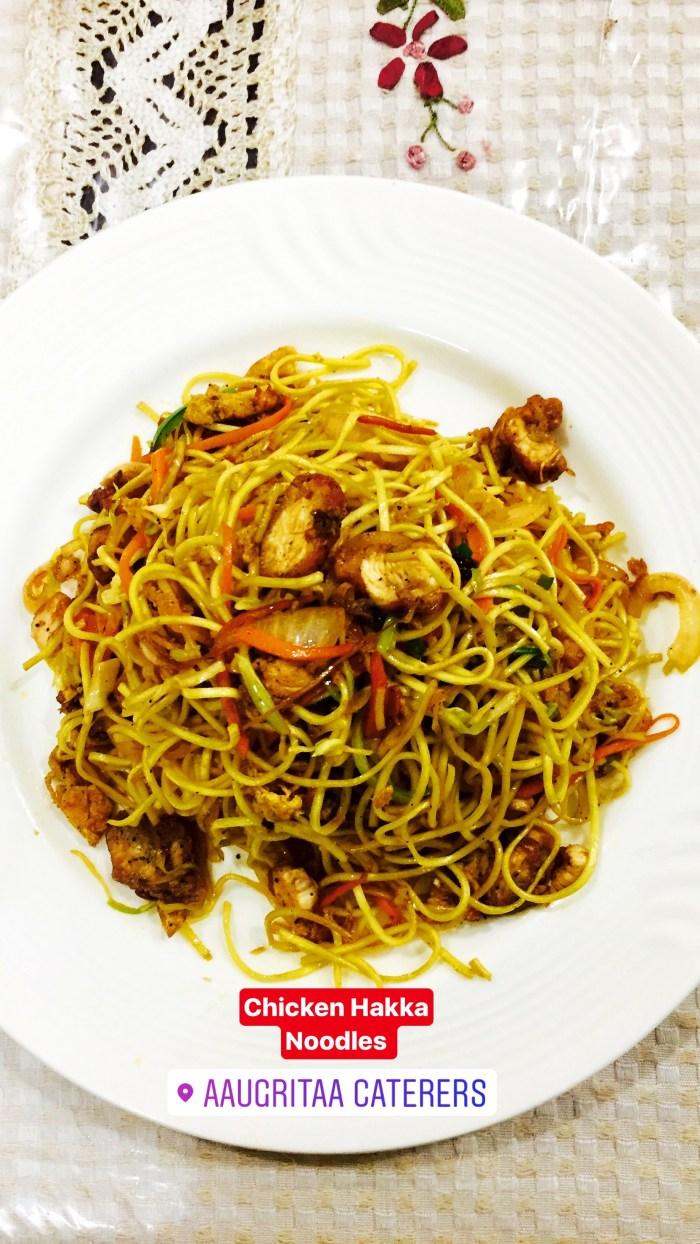 Chicken Hakka Noodles , www.aaugritaa.com