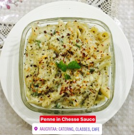 Penne in Cheese Sauce , www.aaugritaa.com