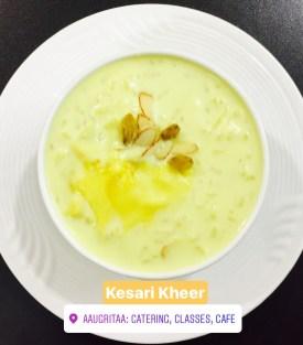 Kesari Kheer , www.aaugritaa.com