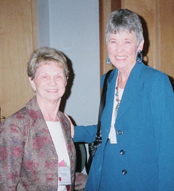 President Doris Bernlohr and South Atlantic Regional Director Carol Newnam