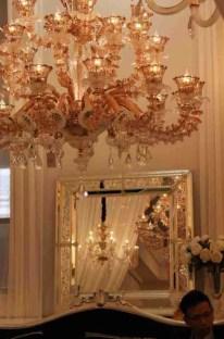 Specchio in vetro di Murano