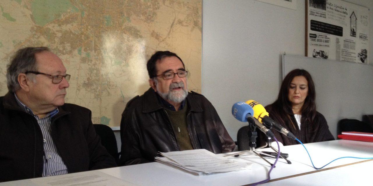 Organizaciones sociales y partidos políticos firman un acuerdo para recuperar la gestión pública del agua en Madrid