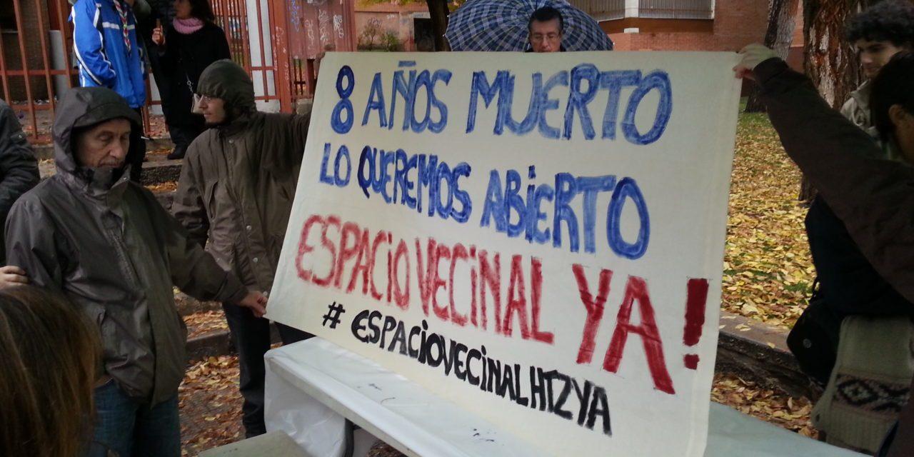 Un nuevo paso para la cesión del colegio Pedro Alvarado de Hortaleza
