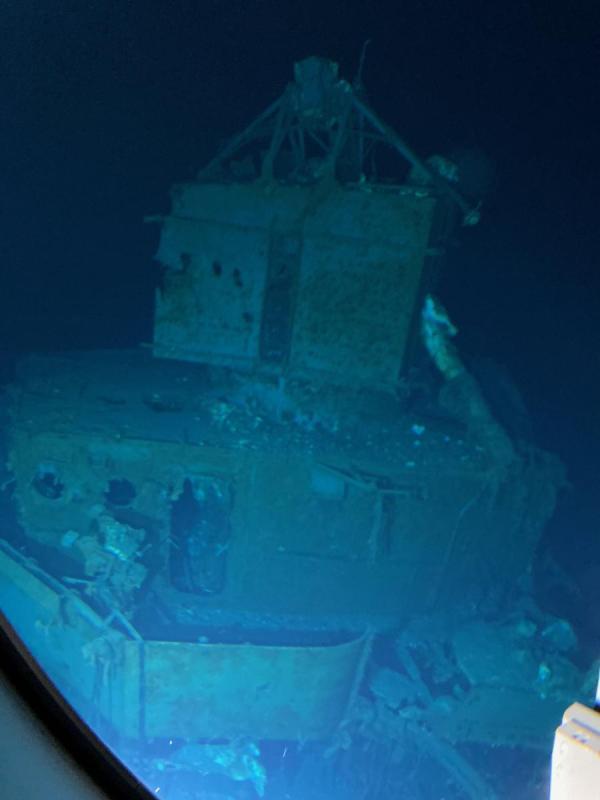 العثور على حطام مدمرة أميركية غرقت خلال الحرب العالمية الثانية قبالة الفلبين (صور)