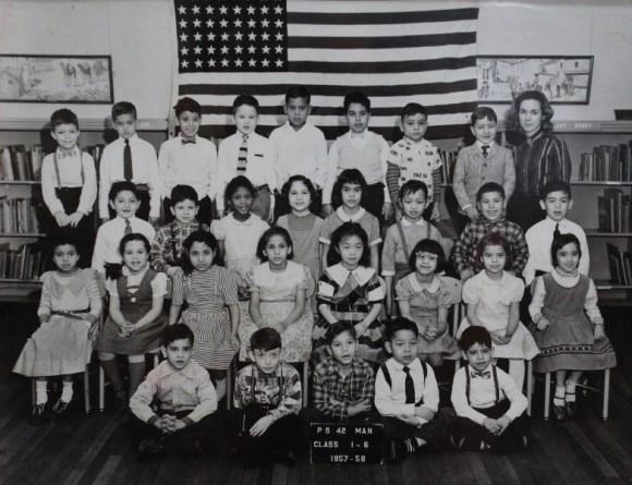 Carmen Morales 1st grade class photo