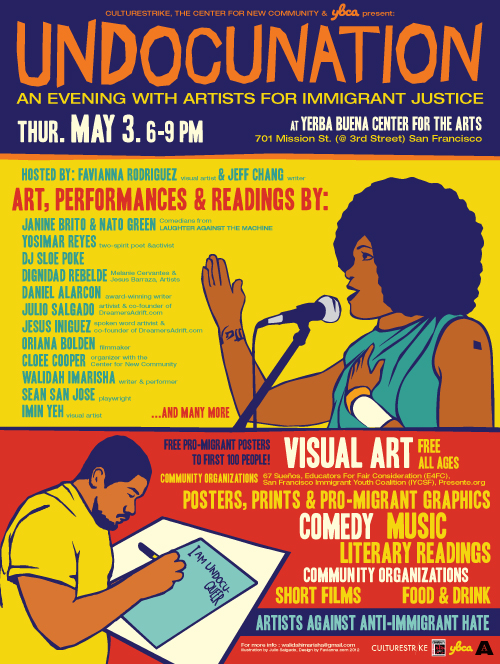 UndocuNation: An Evening with Artists for Immigrant Justice