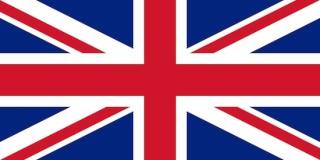 The British flag's xxxx