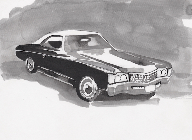 To me my father's car was unimpeachable.