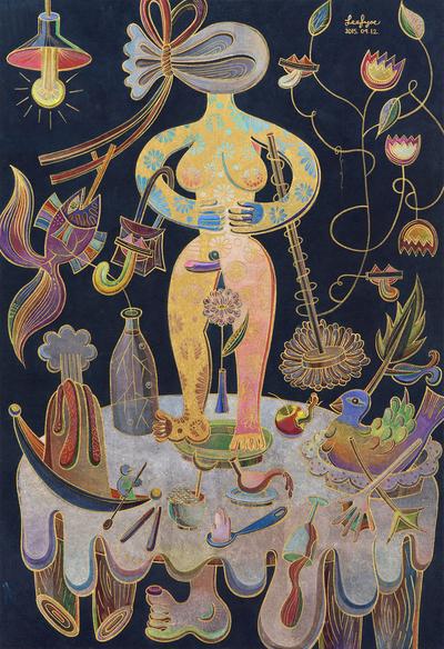 Hermaphrodites Dining Table by Fi Jae Lee