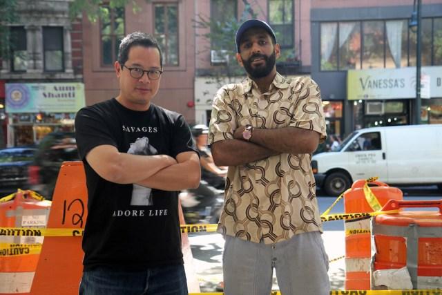 Ashok and Jeff Chang