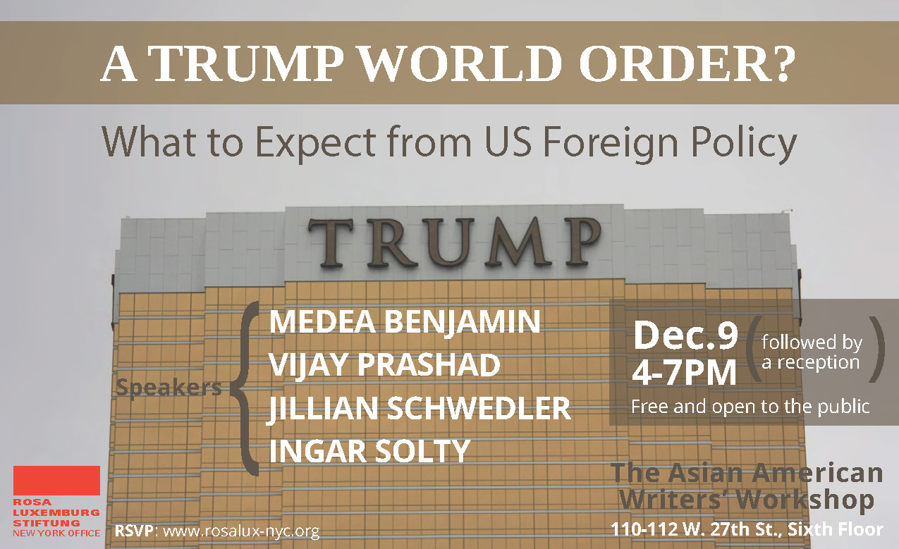 A Trump World Order? What to Expect from US Foreign Policy