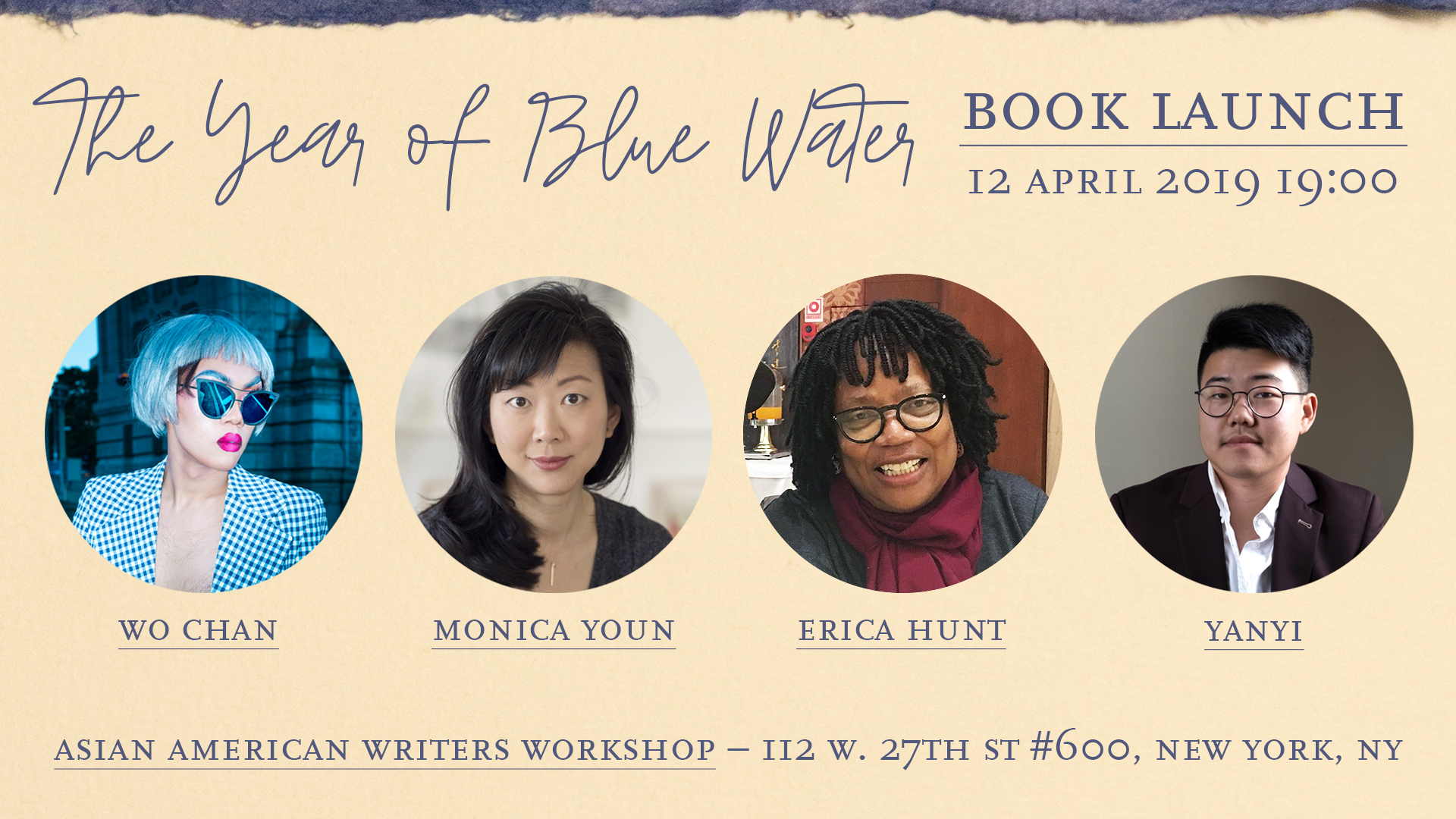 The Year of Blue Water: Book Launch