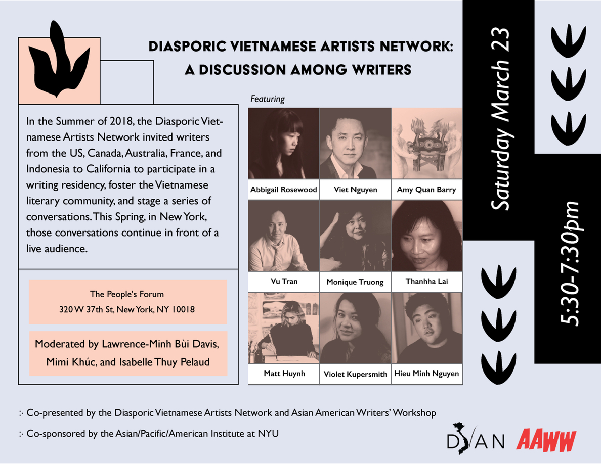 Diasporic Vietnamese Artists Network: A Discussion Among Writers