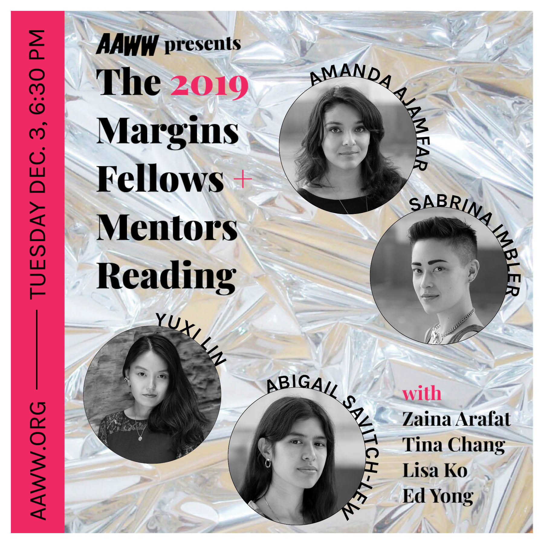 2019 Margins Fellows + Mentors Reading