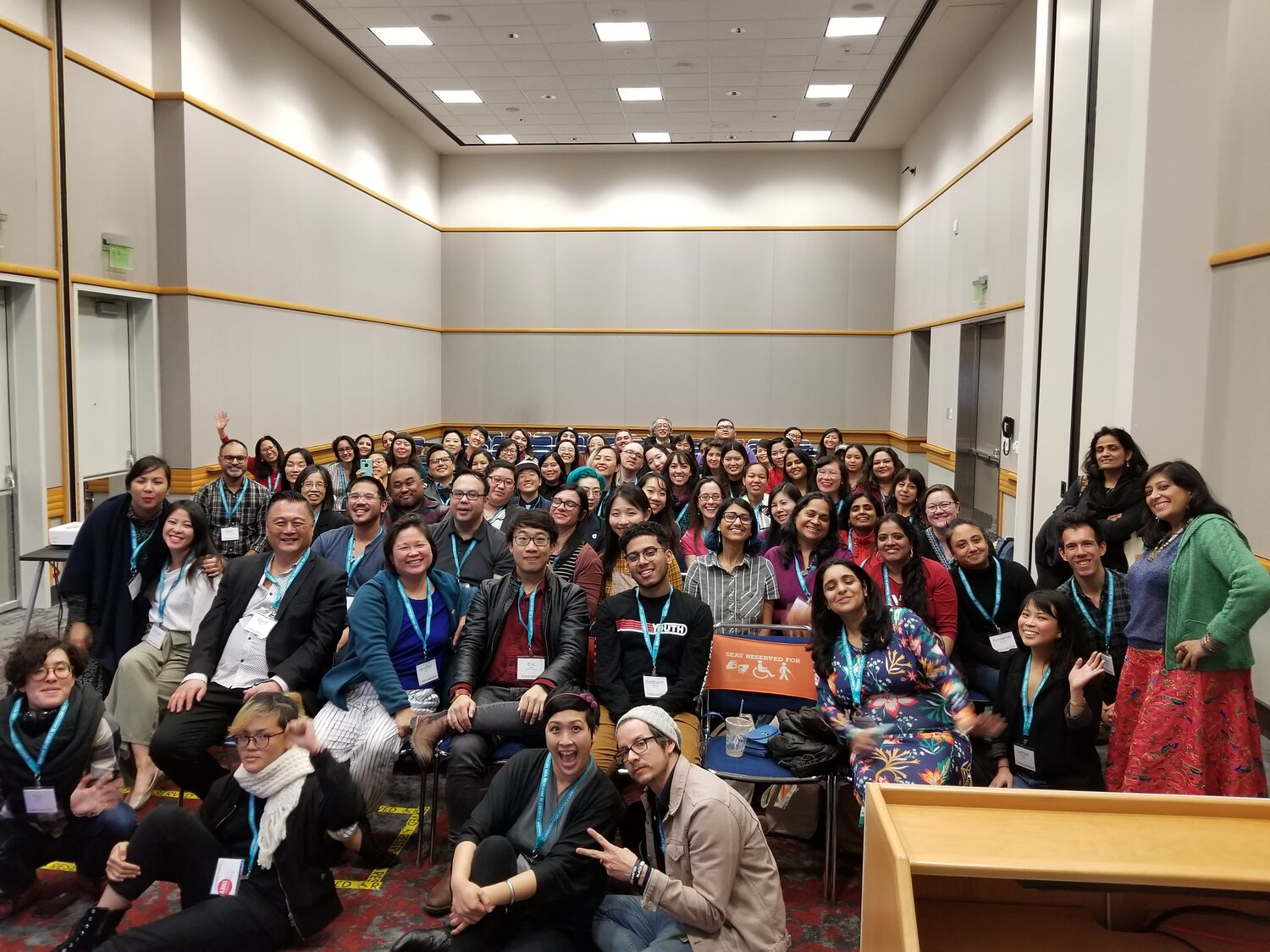 AAWW at AWP: Asian American Caucus