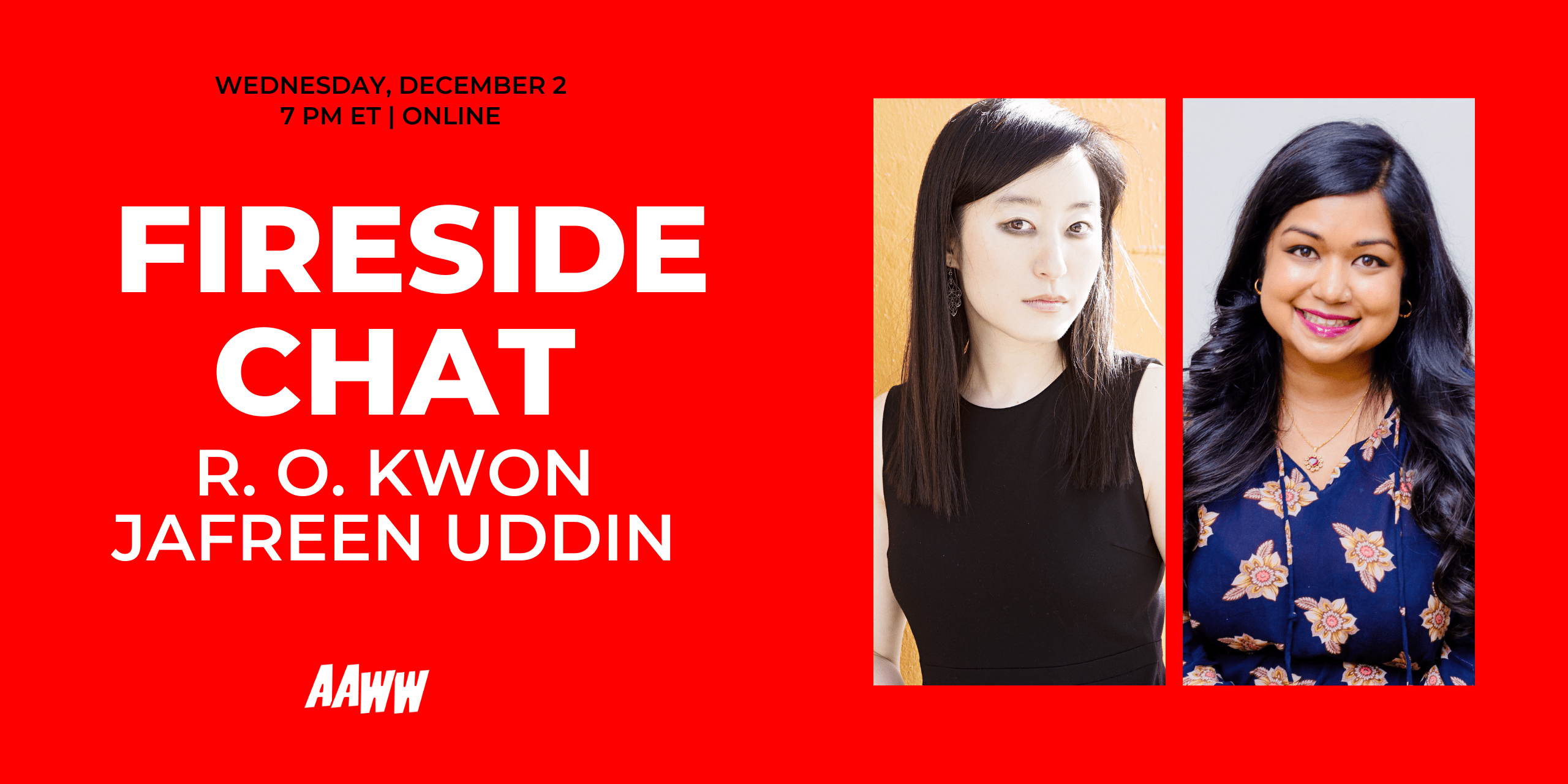 Fireside Chat: R. O. Kwon and Jafreen Uddin