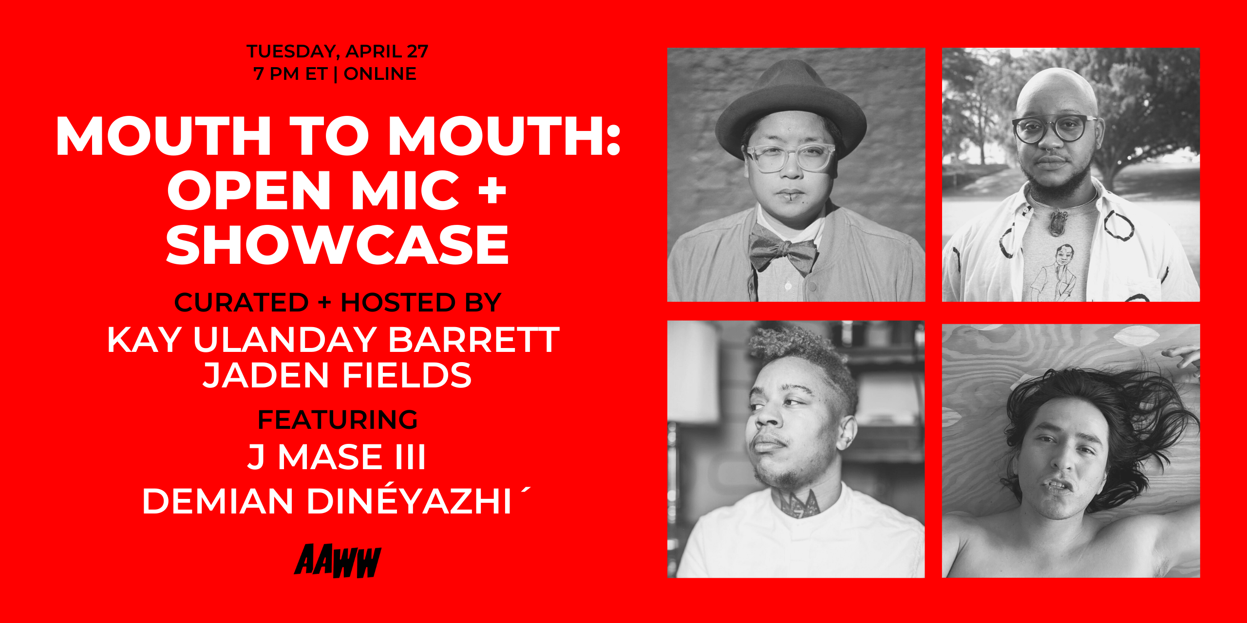 Mouth to Mouth: Open Mic + Showcase