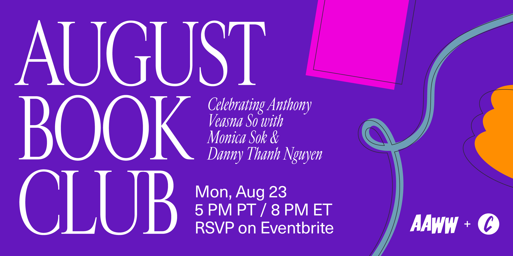 AAWW x Cosmos Book Club: Celebrating Afterparties by Anthony Veasna So