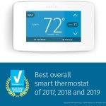 Emerson Sensi Touch Wi-Fi سينسي منظم حرارة ذكي للمكيفات