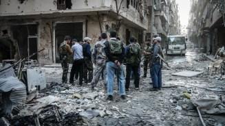 Meeting between two FSA brigades