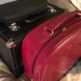 Beautiful Red Makeup Case