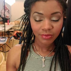 My makeup work at DC Fashion Week 2016