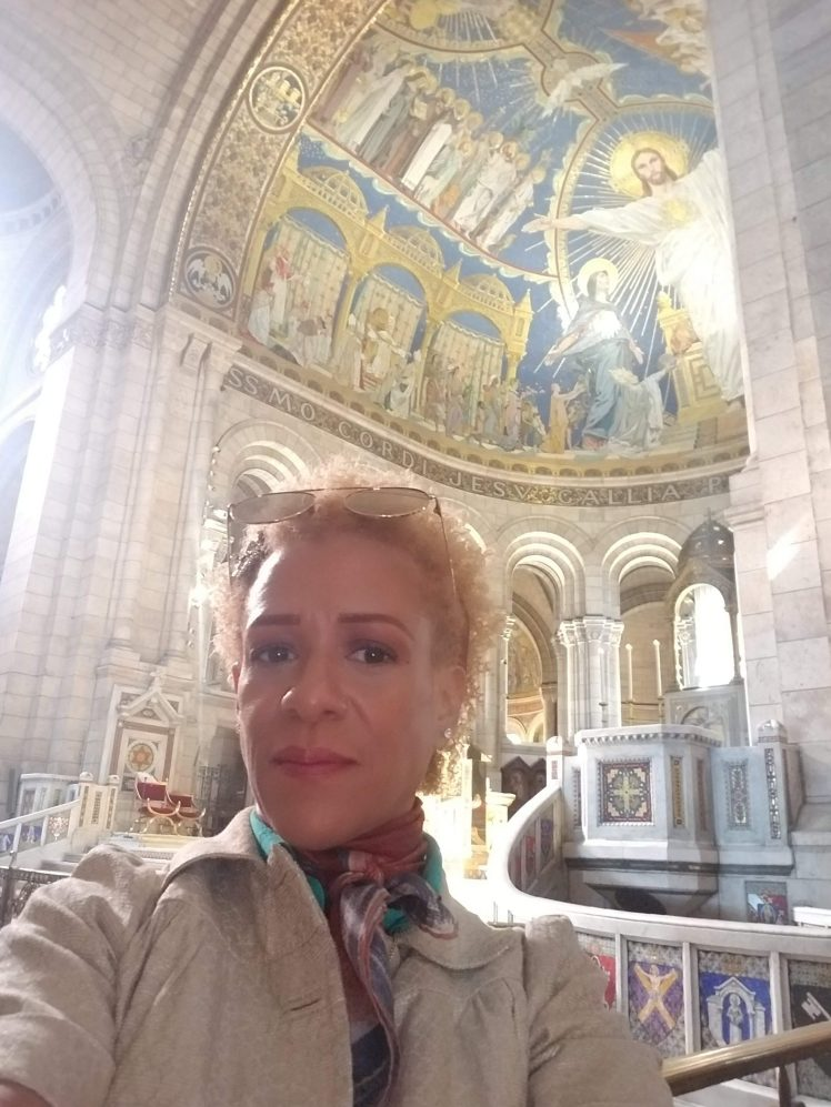 Me at Sacre-Coeur Paris May 2019
