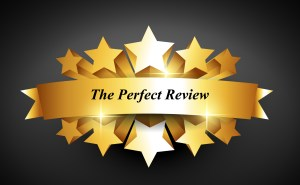The Perfect Review 5 star review banner