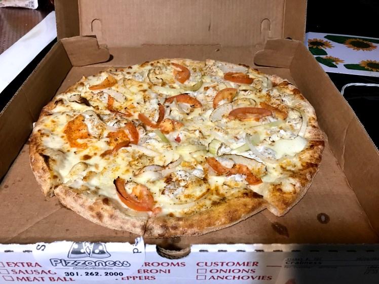 Crab Pizza Pizzaness