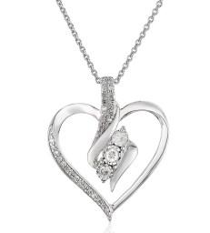 Diamond-3-Stone-Pendant-Necklace-1.4-cttw-18