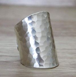 Long-Hammered-Ring