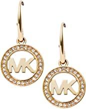 Michael Kor's Stainless Steel Drop Earrings