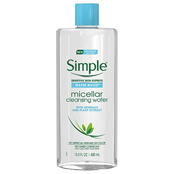 Simple Water Boost Micellar Cleansing Water Twin Pack