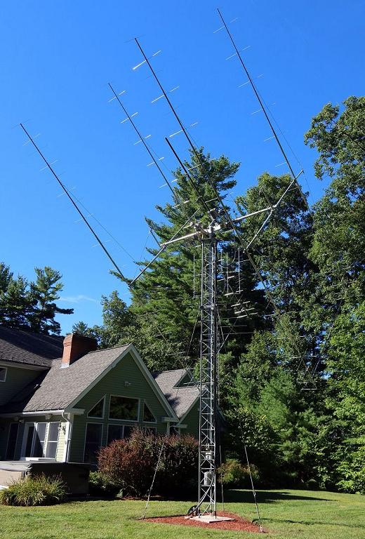 2m EME Antenna Array