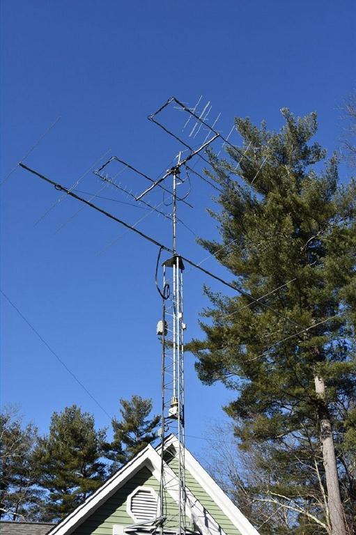 Satellite and 6m Antennas