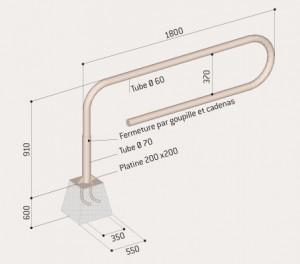 barrière trombone