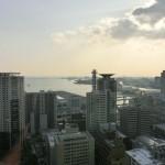 神戸市会庁舎25階からの眺め