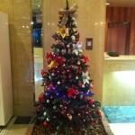 千寿閣のクリスマスツリー
