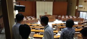 議運、盛岡市議会視察2014.8.5