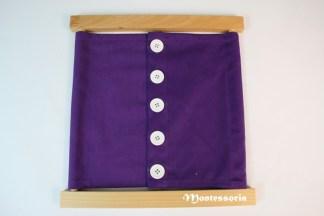 119 - Cadre d'habillage - Grands boutons