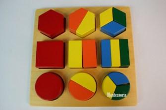 188 - Encastrements géométriques fractionnés