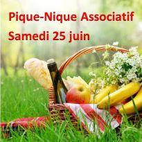 Pique-nique associatif, Samedi 25 juin