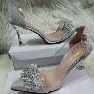 Sequin Wedding Shoe